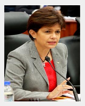 Consejera Electoral Mtra. Beatriz Eugenia Galindo Centeno