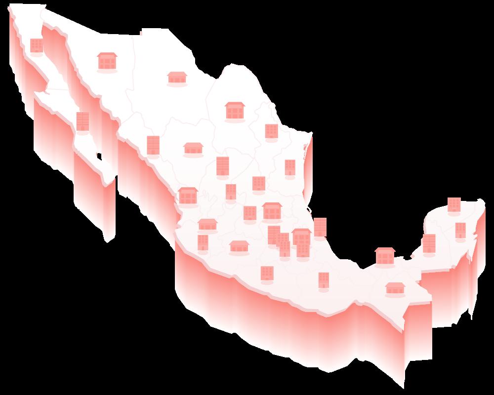 Mapa Organismos Públicos Locales Estatales