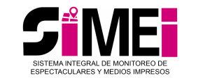 Logo-Sistema Integral de Monitoreo de Espectaculares y Medios Impresos (SIMEI)