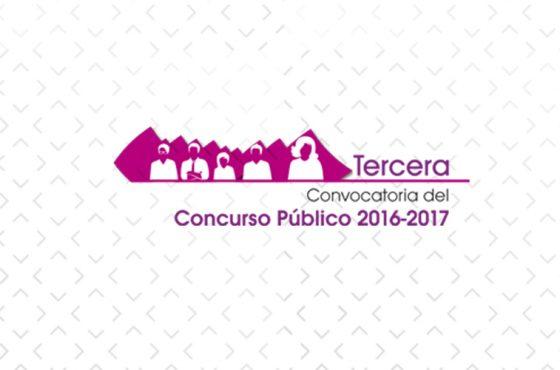 DESPEN-Tercera Convocatoria del Concurso Público 2016-2017