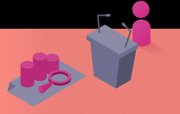 Límite de financiamiento privado para candidatos independientes