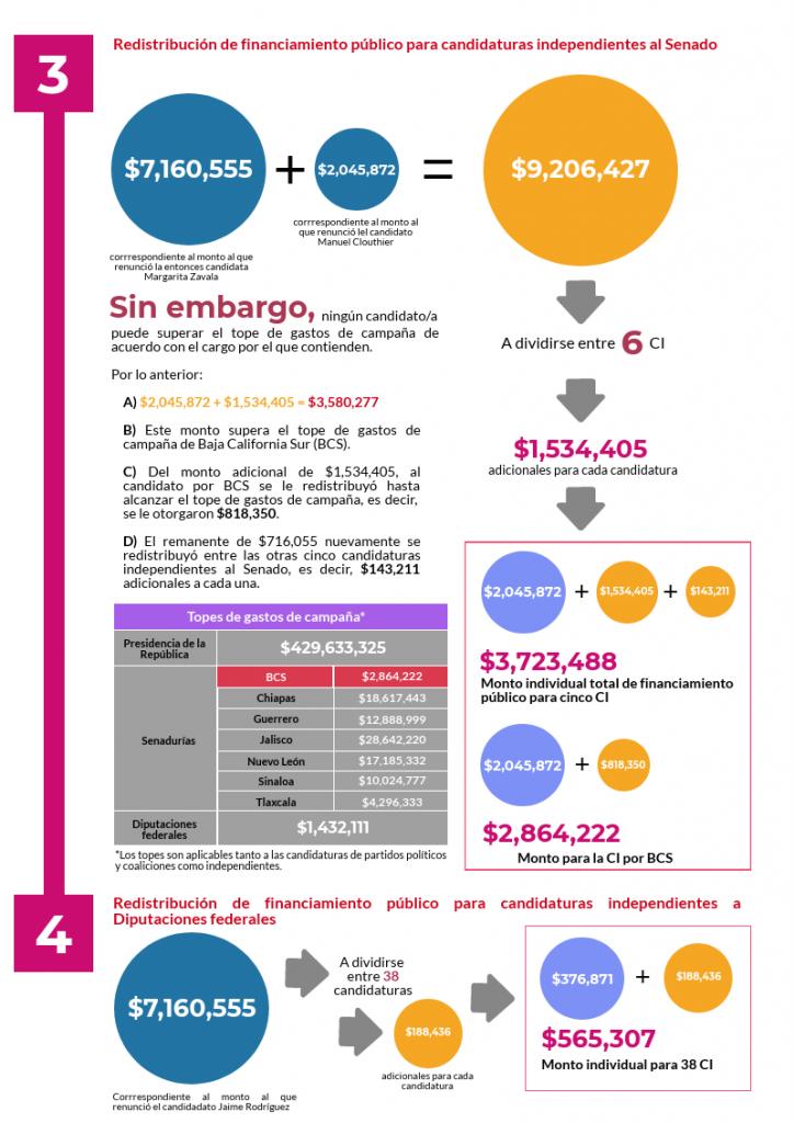Infografía Financiamiento público