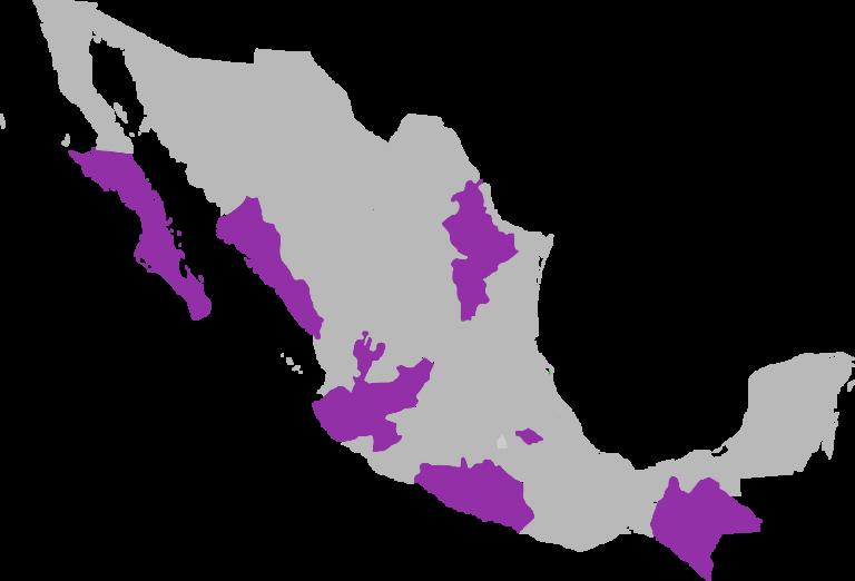 MAPA senadurías Candidaturas independientes