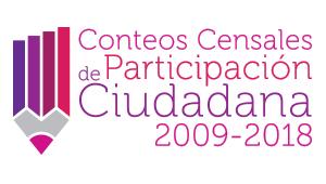 Conteos Censales de Participación ciudadana 2009-2018