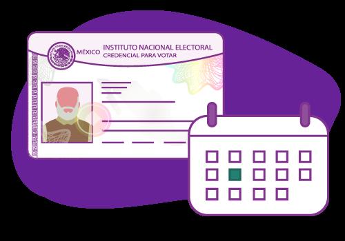 Trámite de credencial para votar - Reemplazo por vigencia