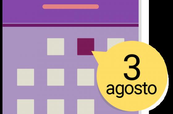 Calendario apertura macs