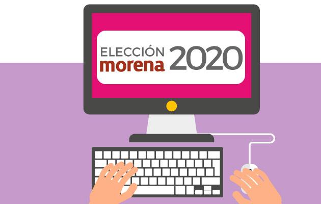 Elección interna morena 2020