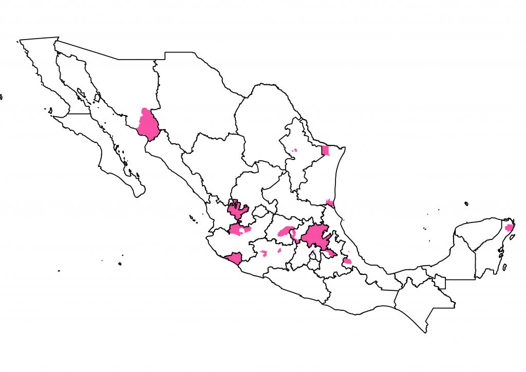 mapa Candidaturas Independientes 2021