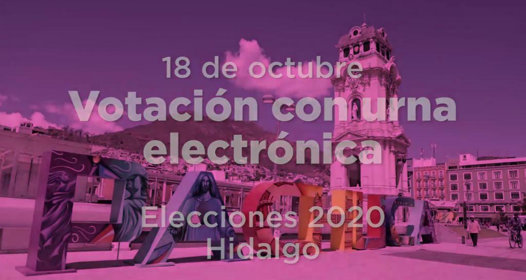 Urna electrónica Hidalgo