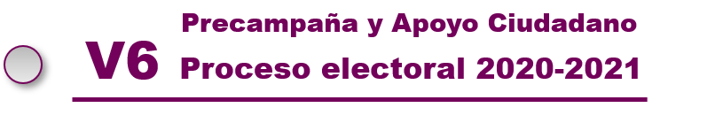 SIMEI Precampaña y Apoyo Ciudadano. Proceso Electoral 2021